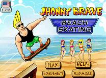 Johnny Bravo cu Skateboardul