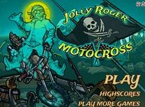 Jolly Roger cu Motocicleta