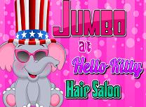 Jumbo la Salonul Hello Kitty
