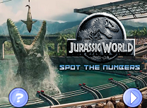 Jurassic World Numere Ascunse