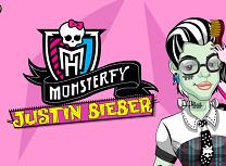 Justin Bieber Devine Monstru