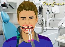 Justin Bieber la Dentist
