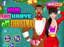 Kim si Kanye de Craciun