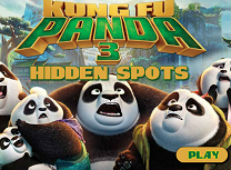 Kung Fu Panda 3 Locuri Ascunse