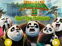 Kung Fu Panda 3 Numere Ascunse