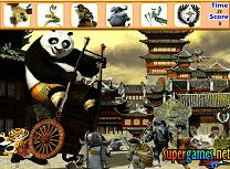Kung Fu Panda Gaseste Obiectele Ascunse