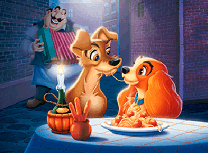 Lady si Tramp Puzzle