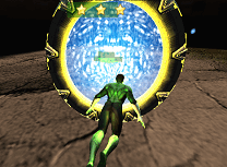 Lanterna Verde Zboara 3D
