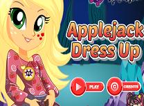 Legendele Everfree Applejack de Imbracat