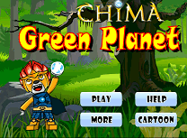 Lego Chima Planeta Verde