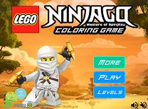 Lego Ninjago de Colorat