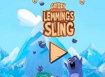 Jocuri cu Grizzy si Lemingii