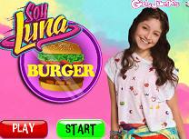 Luna Face Hamburger