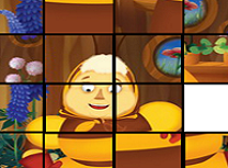 Luntik de Facut Puzzle