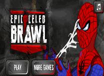 Lupta cu Spiderman