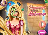 Machiajul lui Rapunzel