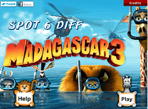 Madagascar 3 Diferente