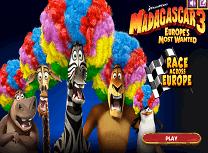 Madagascar Cursa in Europa