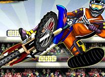 Maestru la Cascadorii cu Motocicleta
