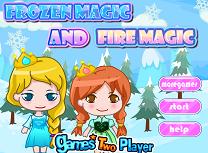Magia Focului si Magia Ghetii