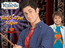 Magicienii din Waverly Place si Covorul Zburator