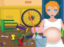 Mama Gravida Curata Garajul