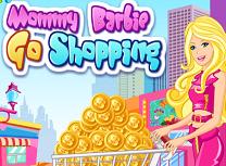 Mamica Barbie la Cumparaturi