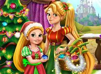 Mamica Rapunzel si Bradul de Craciun