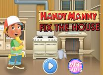 Manny Iscusitul Repara Casa