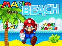 Mario Aventura pe Plaja