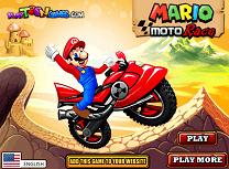 Mario Cursa cu Motocicleta