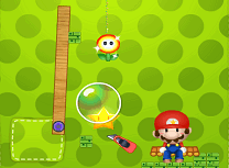 Mario Cut the Rope