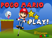 Mario cu Batul Pogo