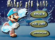 Mario in Taramul de Gheata