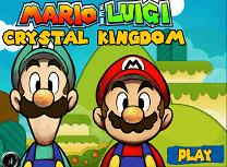 Mario si Luigi Regatul de Cristal