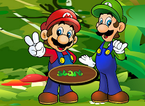 Mario si Luigi in Jungla