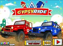 Mario si Sonic Cursa cu Jeepuri