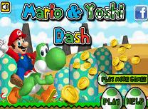 Mario si Yoshi in Actiune