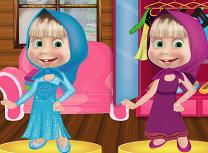 Masha Costume Frozen