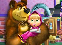 Masha Ursul si Jucariile