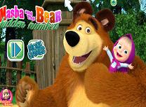 Masha si Ursul Cauta Numerele Ascunse