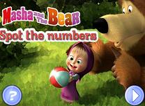 Masha si Ursul Numere Ascunse