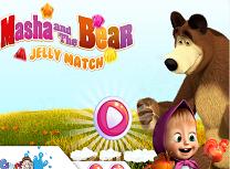 Masha si Ursul Potrivesc Jeleurile