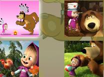 Masha si Ursul Puzzle