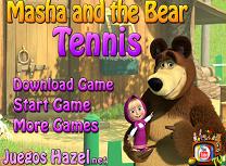 Masha si Ursul Tenis de Masa