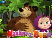 Masha si Ursul in Padure