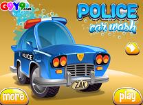 Masina de Politie la Spalatorie