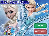 Matematica cu Elsa