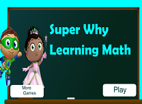 Matematica cu Super Why