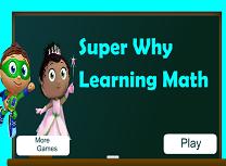 Matematica cu Super Why